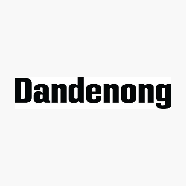 Dandenong Australia Photographic Print