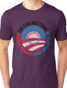 OBAMA RE-ELECTION 2012 (for light color shirts) Unisex T-Shirt