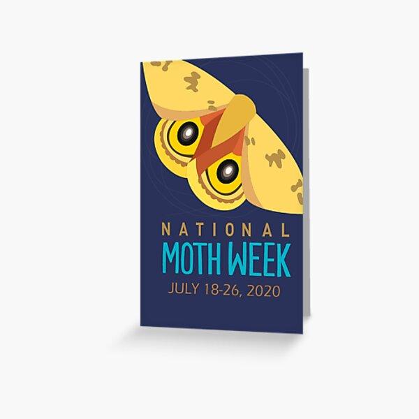 National Moth Week 2020 Greeting Card