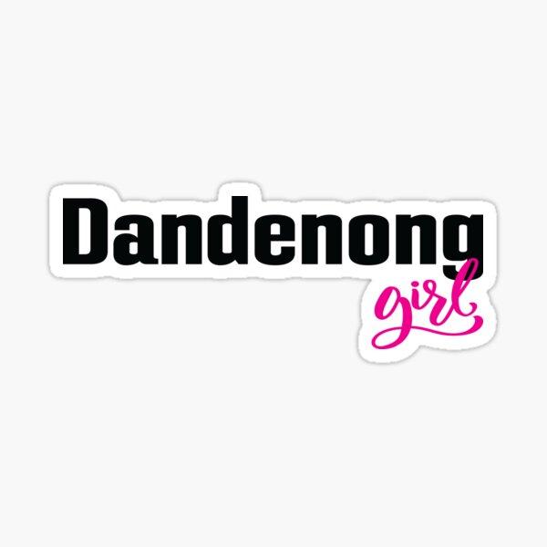 Dandenong Girl Australia Sticker