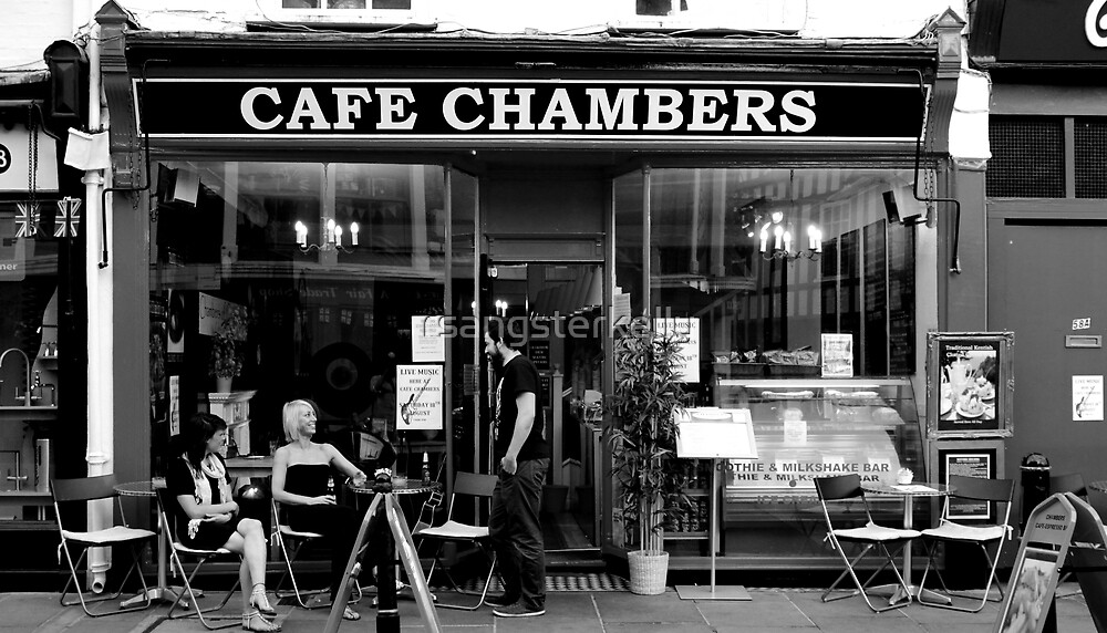 Canterbury - Chambers Cafe by rsangsterkelly