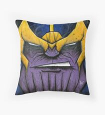 Thanos the Mad Titan Throw Pillow