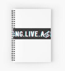 Long Live A$AP Spiral Notebook