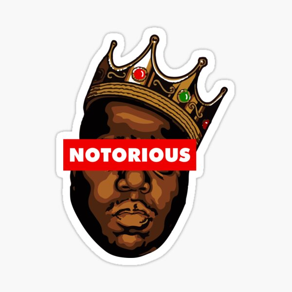 Notorious B.I.G Sticker