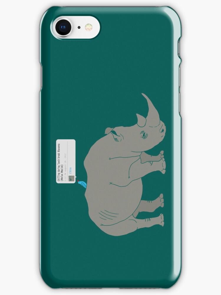 #Rhino #Savanna by Narutal