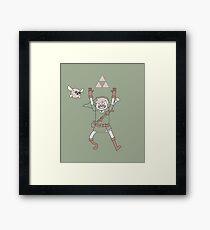 Link Adventure Framed Print
