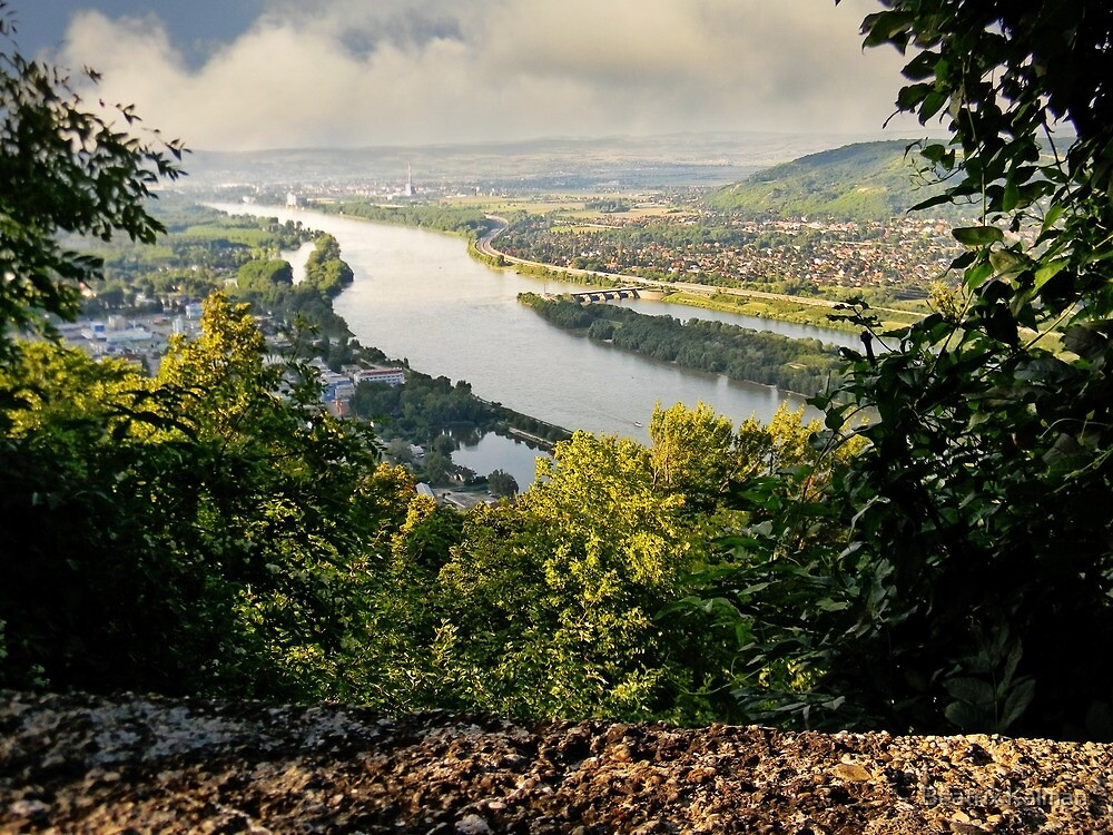 View from Leopoldsberg by BMV1