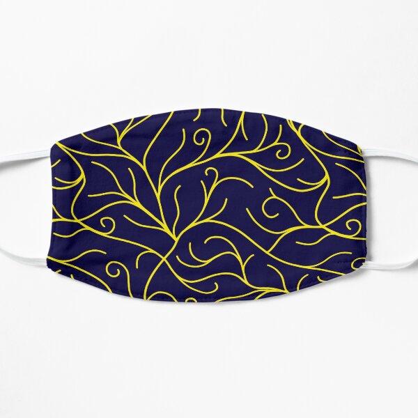 Blue Velvet, Golden Vines Mask