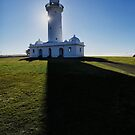 Macquarie Lighthouse shadows by Adriano Carrideo