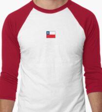 Keep calm and viva Chile conchetumare Men's Baseball ¾ T-Shirt