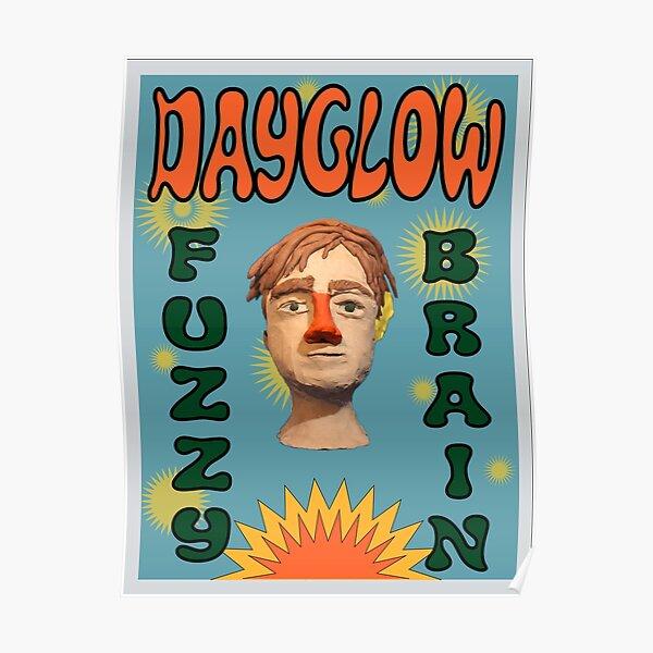 Fuzzybrain Dayglow Albumplakat Poster