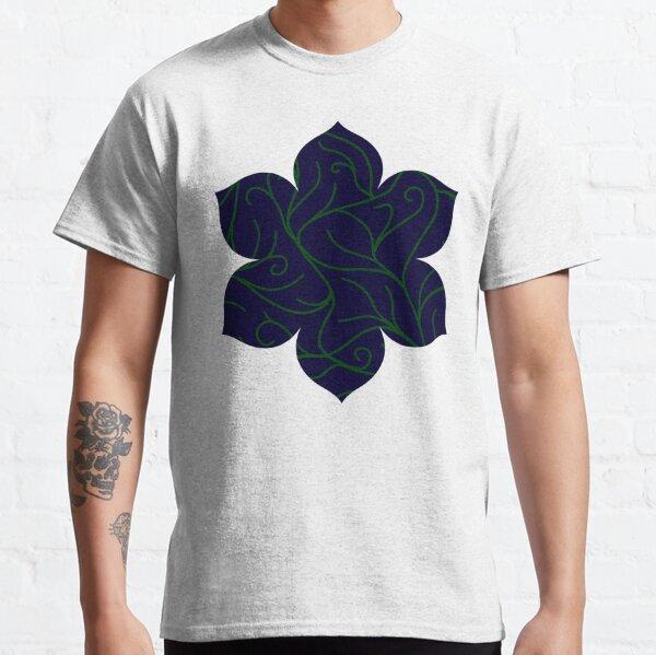 Blue Velvet, Green Vines Classic T-Shirt