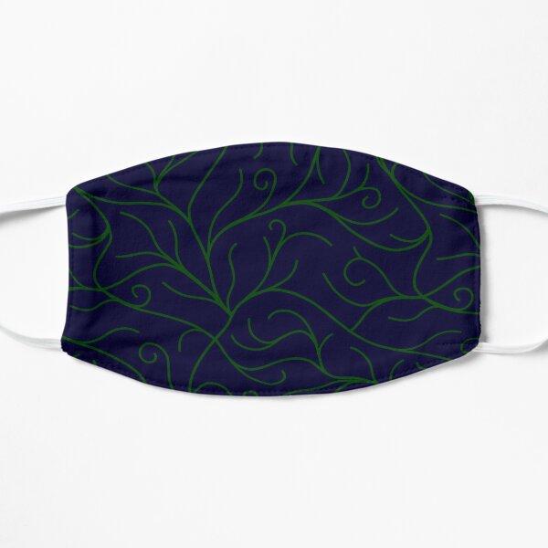 Blue Velvet, Green Vines Mask