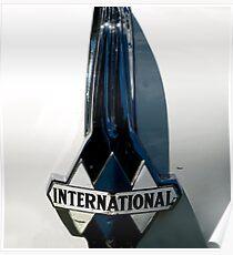 1939 International Hood Ornament  Poster