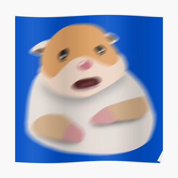 Screaming Hamster Posters   Redbubble