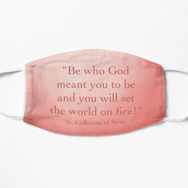 Set the world on fire! Flat Mask