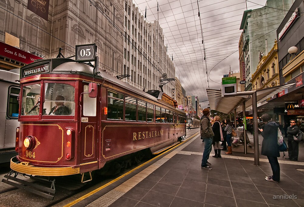 Restaurant Tram Car by annibels