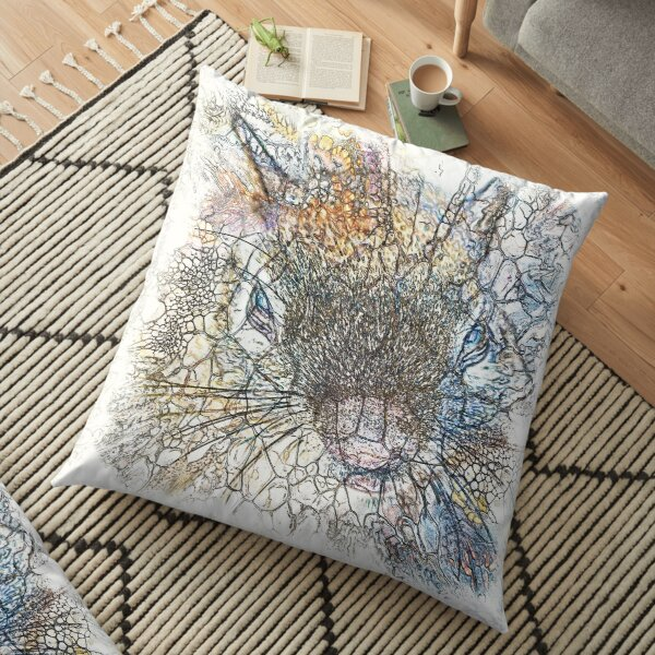The Atlas of Dreams - Color Plate 214 Floor Pillow