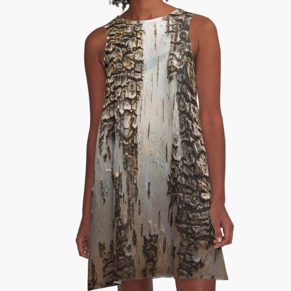 Birch Gradient Texture A-Line Dress