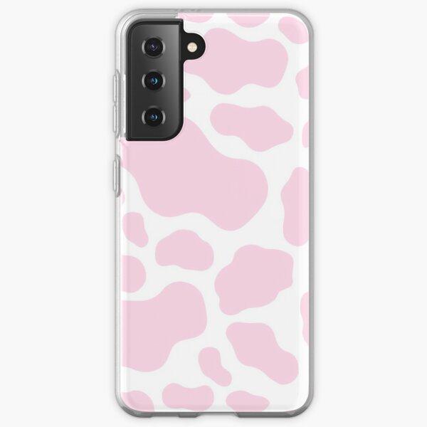 Impression de vache rose Coque souple Samsung Galaxy
