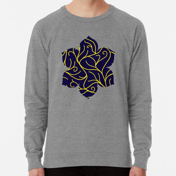 Blue Velvet, Golden Vines Lightweight Sweatshirt