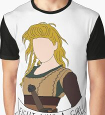 Fight Like Lagertha Graphic T-Shirt
