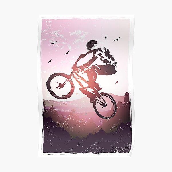 BMX Streetstyle   Affiche de vélo BMX Poster