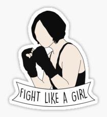 Fight Like Sun Bak Sticker