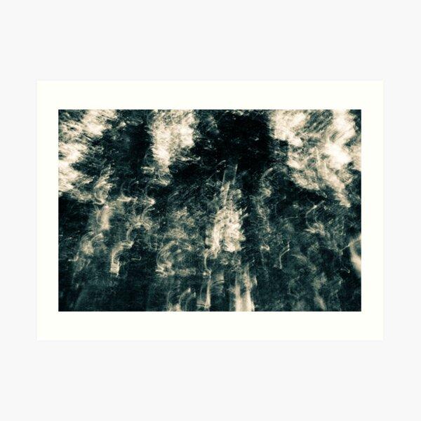 Enter - an abstract expressionism Art Print