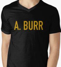 Ihr gehorsamer Diener, A. Burr T-Shirt mit V-Ausschnitt für Männer