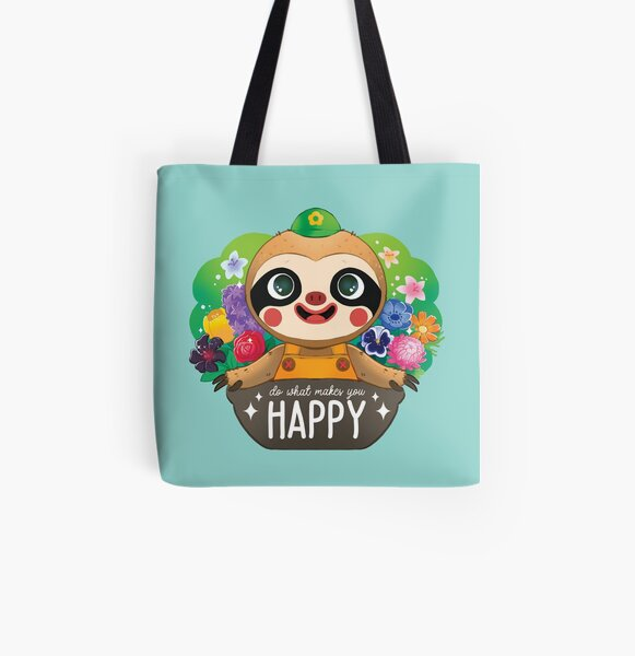 Leif - Do what makes you Happy All Over Print Tote Bag