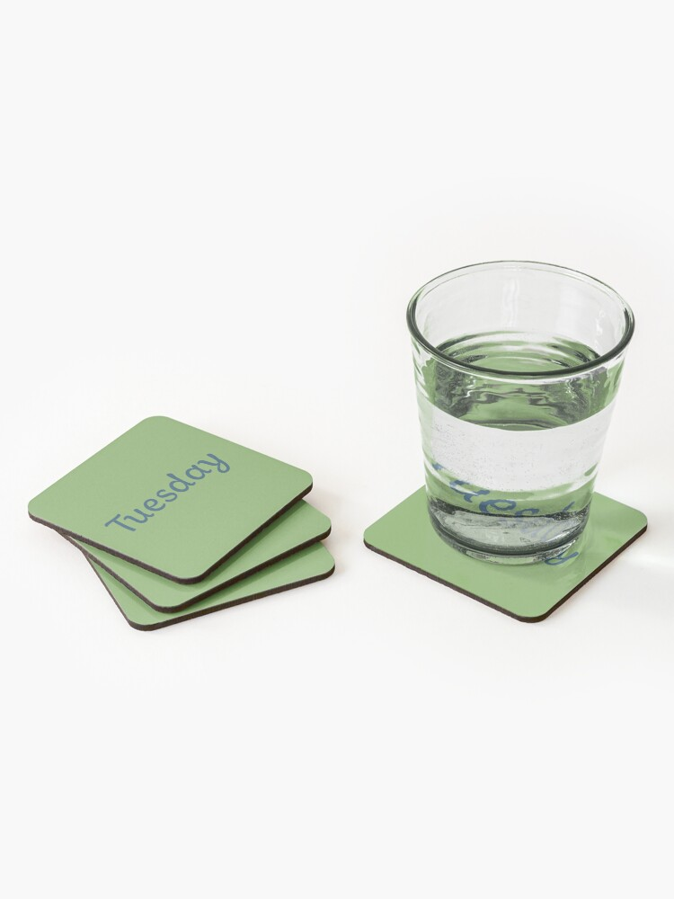 Alternate view of Tuesday Coasters (Set of 4)