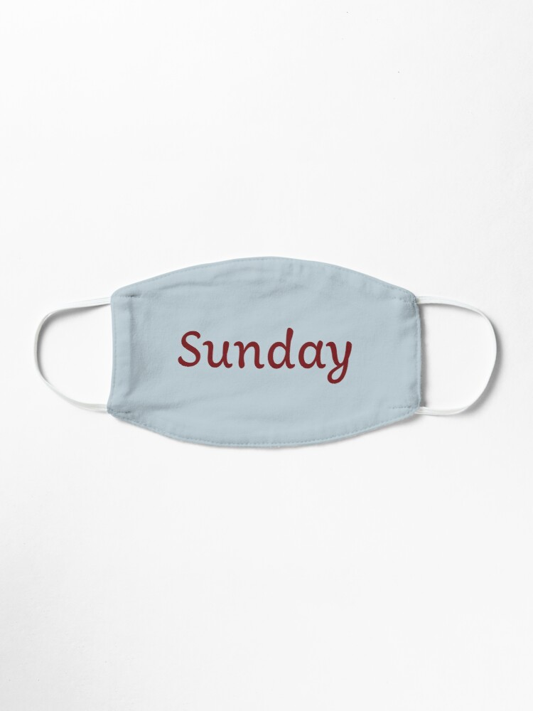 Alternate view of Sunday Mask