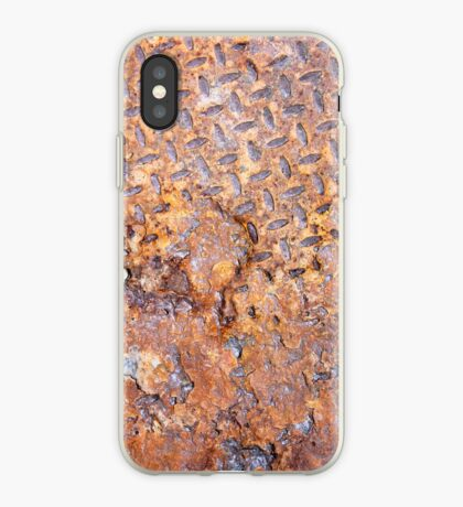 Rusted Metal Floor Plate - iPhone Case iPhone Case