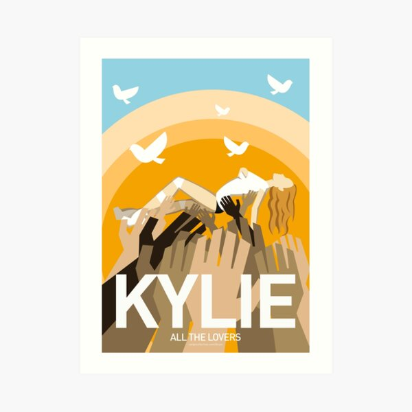 Kylie - All The Lovers Art Print