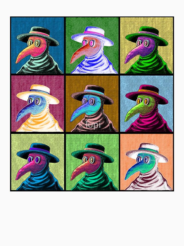 Pop Art Plague Doctor by lupi