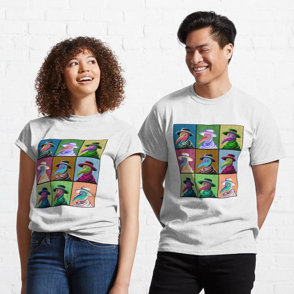 Pop Art Plague Doctor Classic T-Shirt