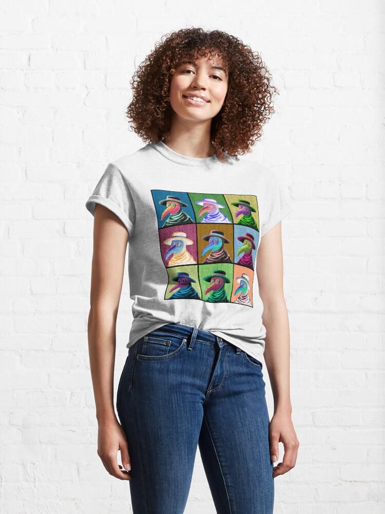 Alternate view of Pop Art Plague Doctor Classic T-Shirt