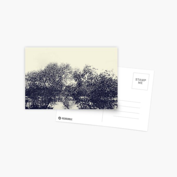 The river flows Postcard