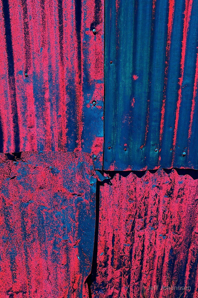 Pink CORRUGATED by Jeff Johannsen