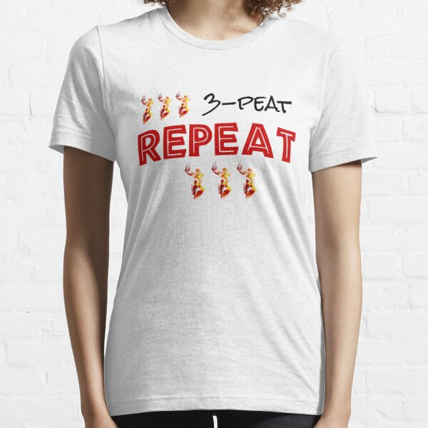 Basketball Repeat 3 peat  funny Gift Idea Essential T-Shirt