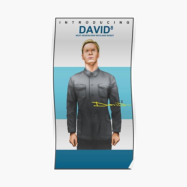 Michael Fassbender as David 8 Poster