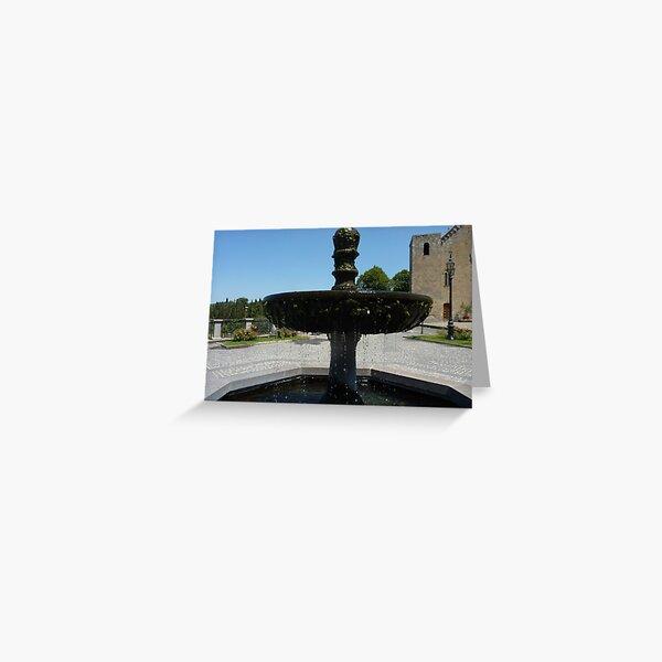 Fountain in Bolsena Greeting Card