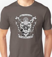 NerdCrest  -  Black and White T-Shirt
