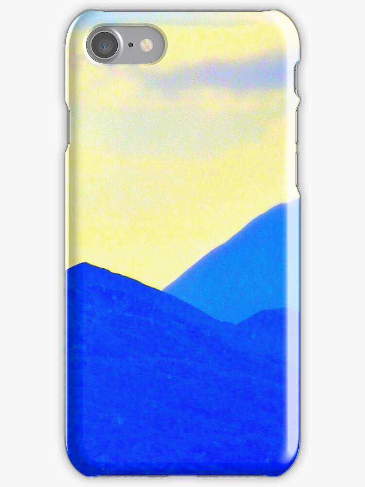 Donegal Hills iPhone Case by Fara