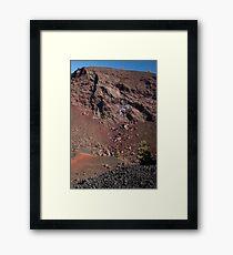 Big Craters Framed Print