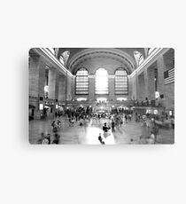 Main Concourse, Grand Central Metal Print