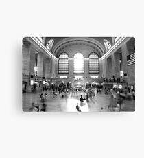 Main Concourse, Grand Central Canvas Print
