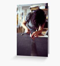 Designer Portrait Greeting Card