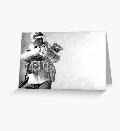 Milana Winter gear Greeting Card